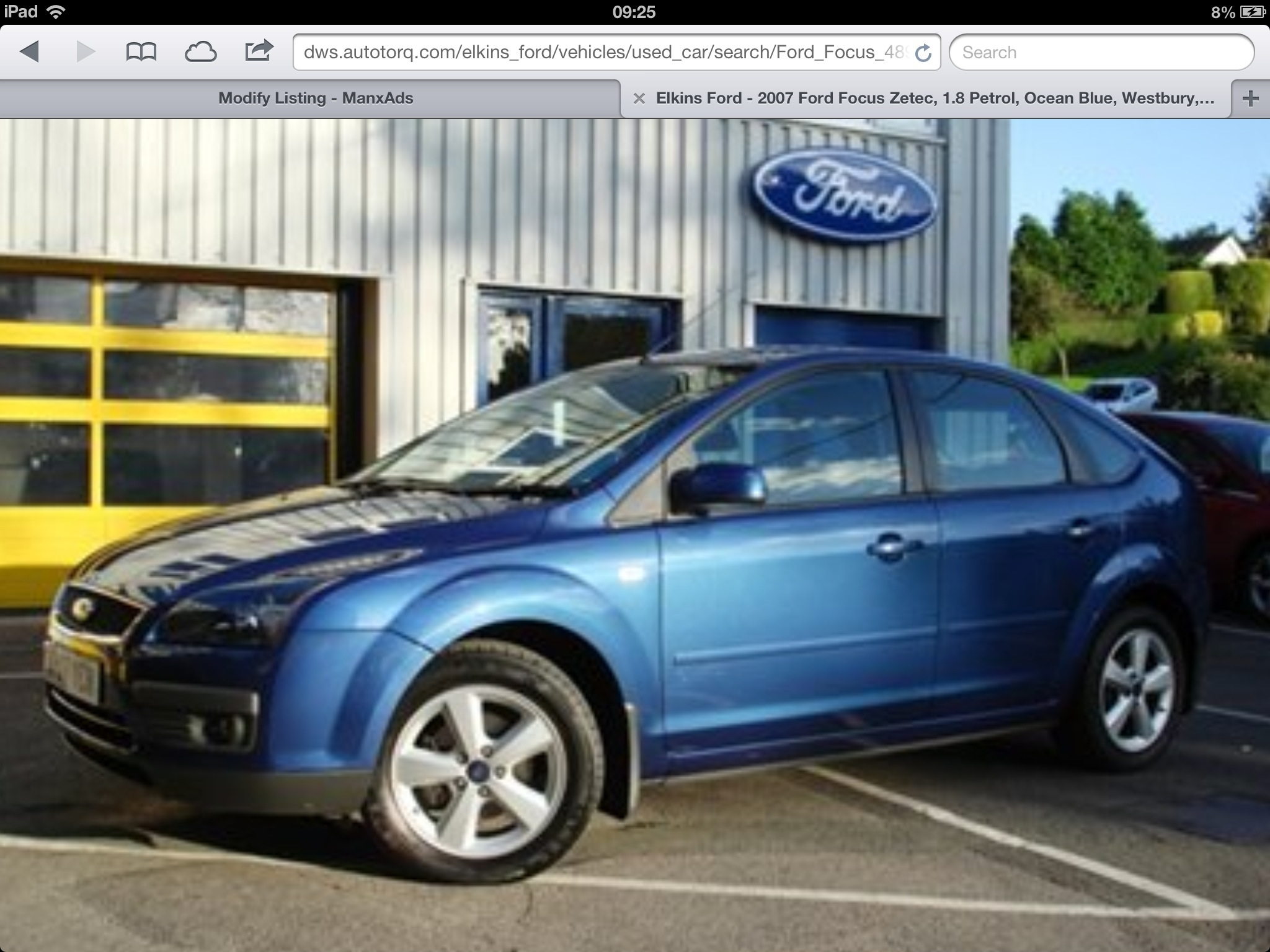 Ford Focus zetec 1.6 from private