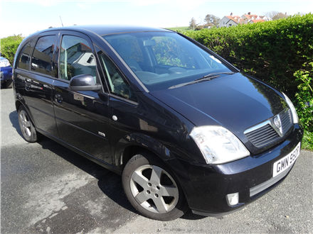 Vauxhall Meriva 1800 from private