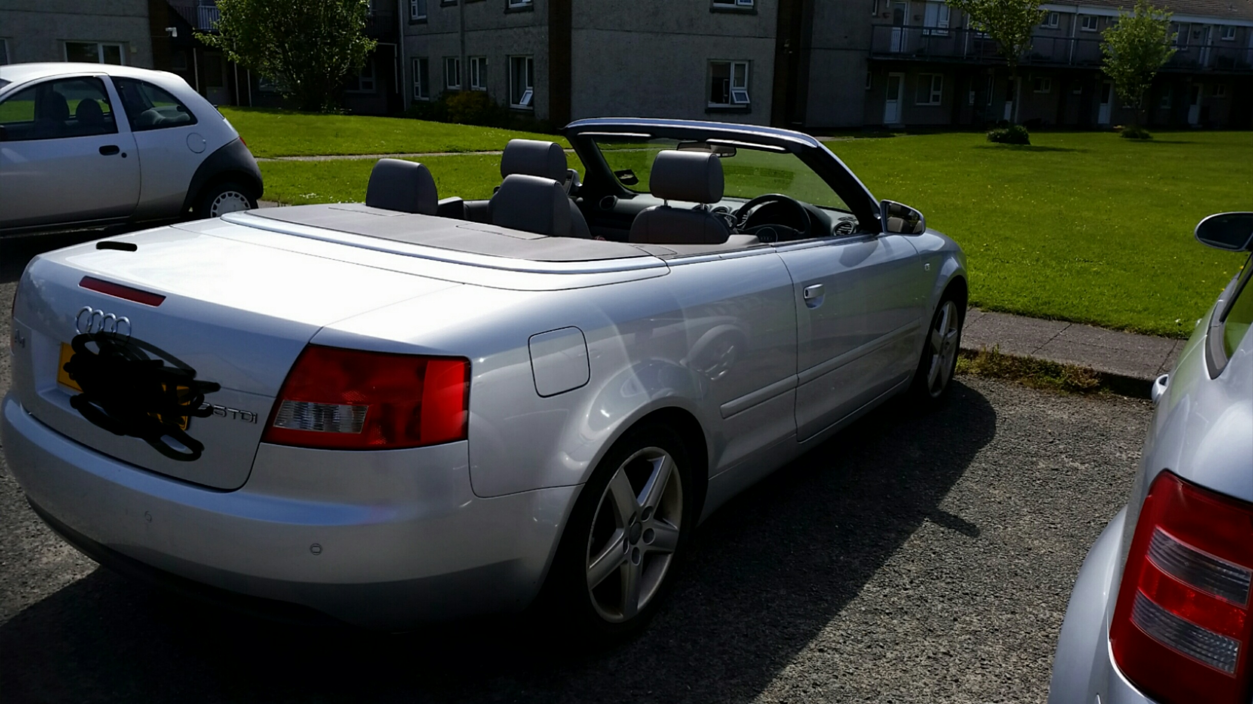 Audi A4 convertible tdi 2.5 from private