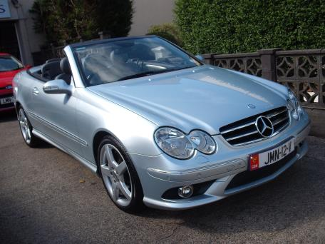 Mercedes CLK Kompressor Sport 200 Cabriolet 1.8 from private