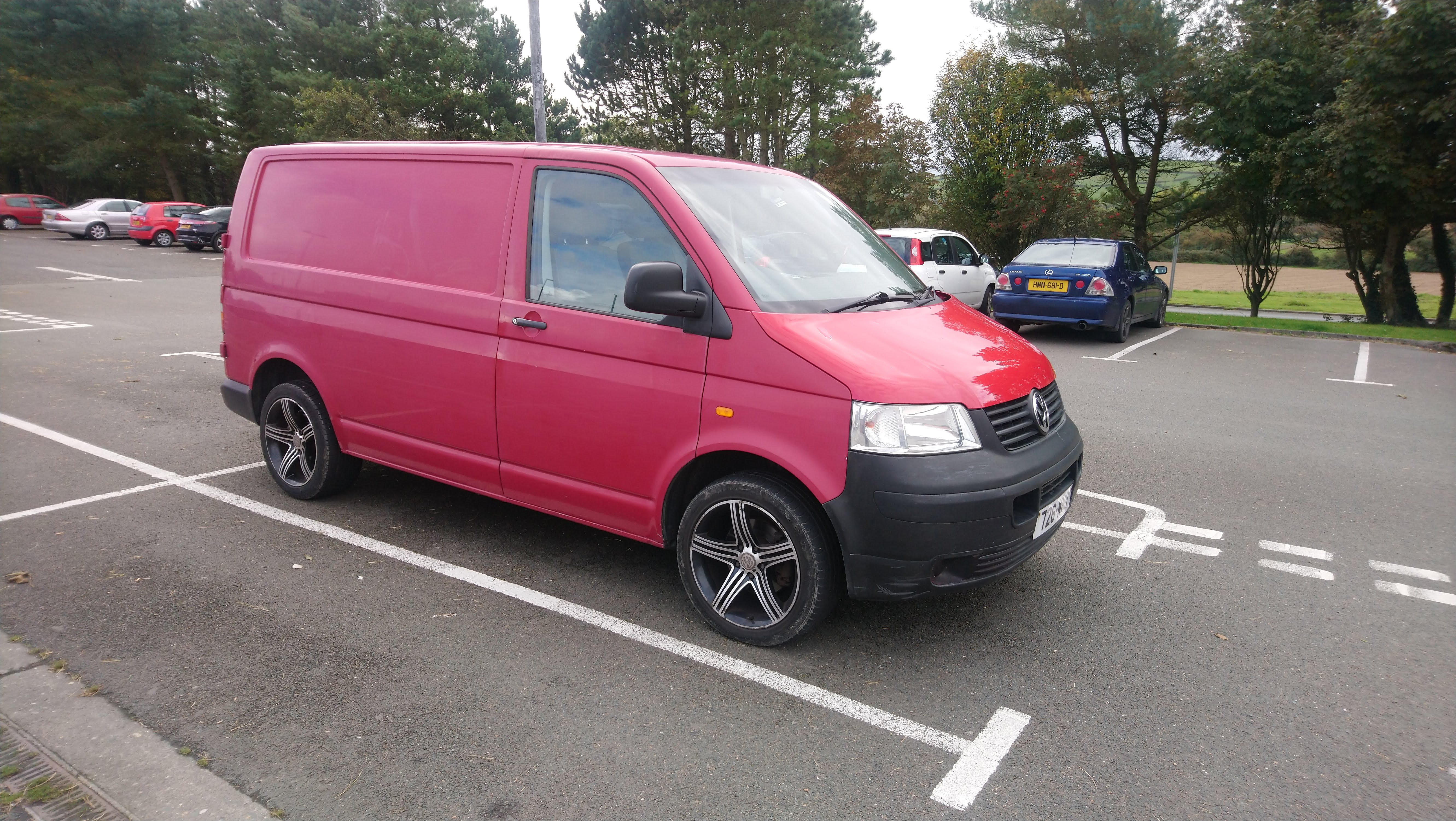 VW Transporter 1.9 from private